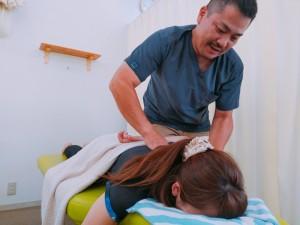 肩の施術 (3)